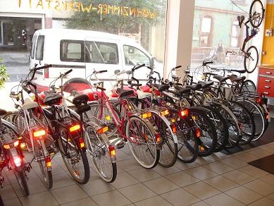 Damit Ist Die Wohnzimmer Werkstatt Einer Der Wenigen Lden In Frankfurt Gebrauchte Fahrrder Anbieten